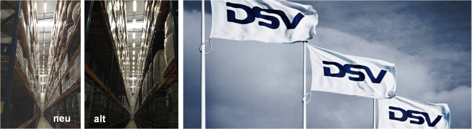 LED Distribution | Projects | Logistics (DSV) | Venlo, Netherlands