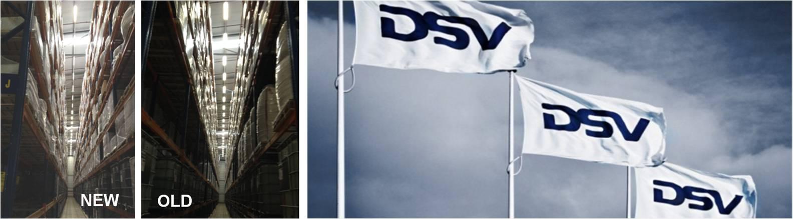LED Distribution | Projects | Logistics (DSV) | Venlo, Netherlands