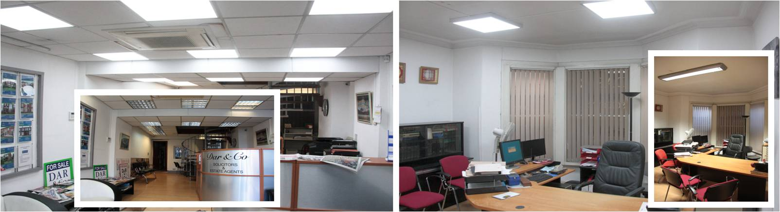 LED Distribution | Projects | Office (DAR&Co Solicitors) | Manchester, England