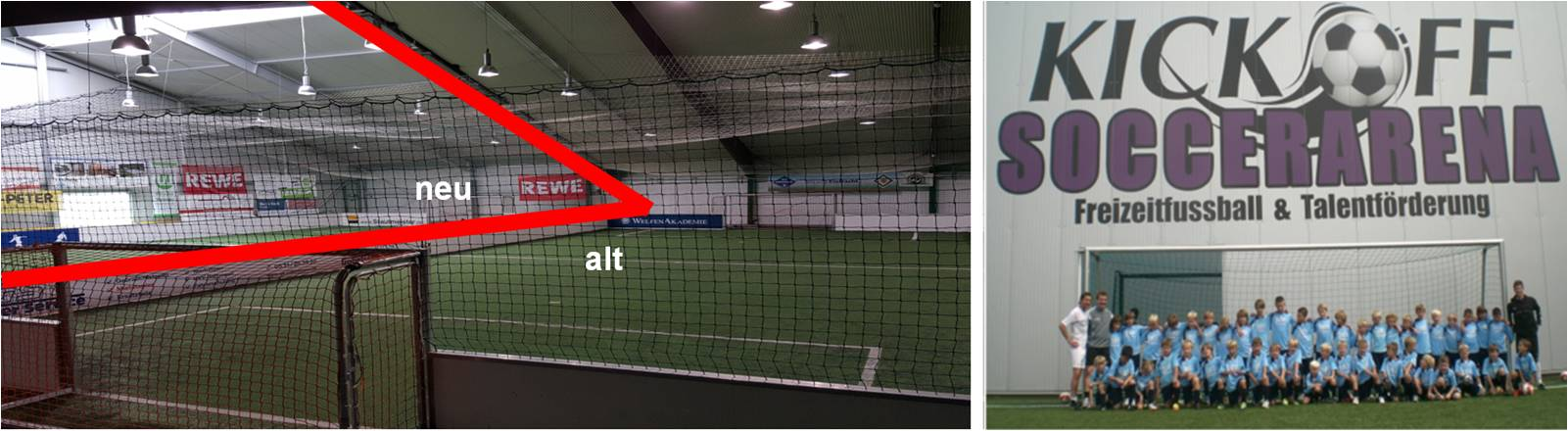 LED Distribution | Projects | Soccer Hall (KickOff Arena) | Braunschweig, Germany