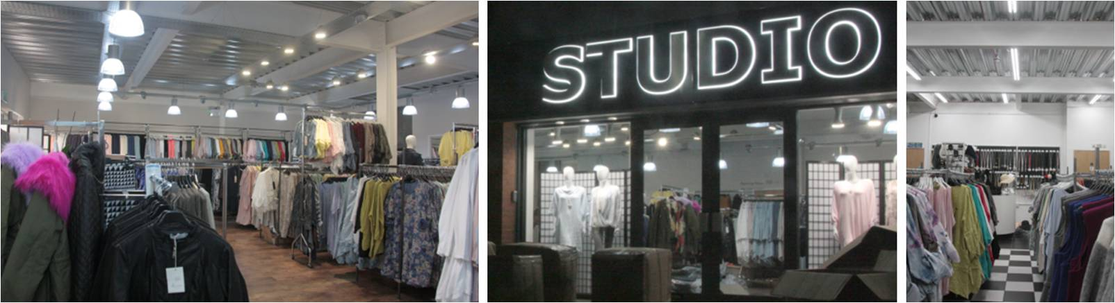LED Distribution | Projects | Fashion Shop | Manchester, England