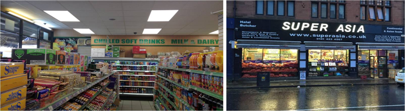 LED Distribution | Projects | Supermarket (Superasia) | Glasgow, Scotland