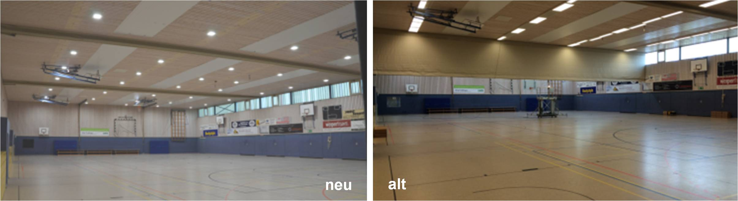 LED Distribution | Projects | Gym (Baumberg-Sporthalle) | Havixbeck, Germany
