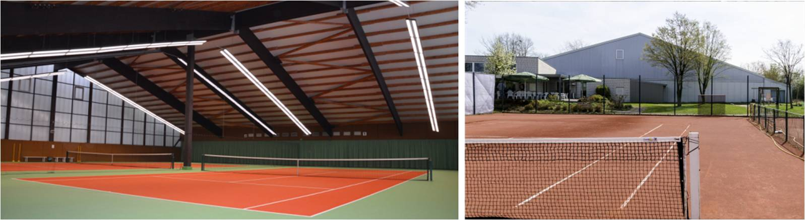 LED Distribution | Projects | Indoor Tennis Center (TC Havixbeck e.V.) | Havixbeck, Germany